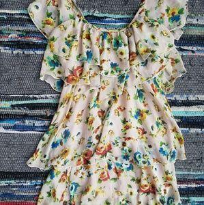 Sweewe boutique tierd ruffle dress